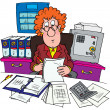 Stock Photo: Bookkeeper