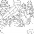 Dumper truck — Stock Photo