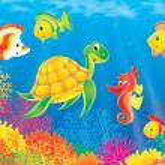 Underwater scene — Stock Photo