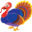 Colorful tom turkey — Stock Photo #31116883