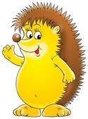 Friendly hedgehog — Stock Photo