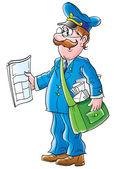 Postman — Stock Photo