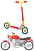 Motocykl i skuter — Zdjęcie stockowe
