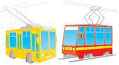 Dwa wagony — Zdjęcie stockowe