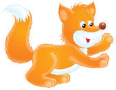 Orange fox — Stock Photo