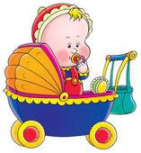 Nena rubia chupando el chupete — Foto de Stock