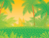 Tropical foliage background — Stock Photo