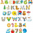 Toy font — Vector de stock #32456325