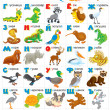 Russian alphabet — Stock Photo