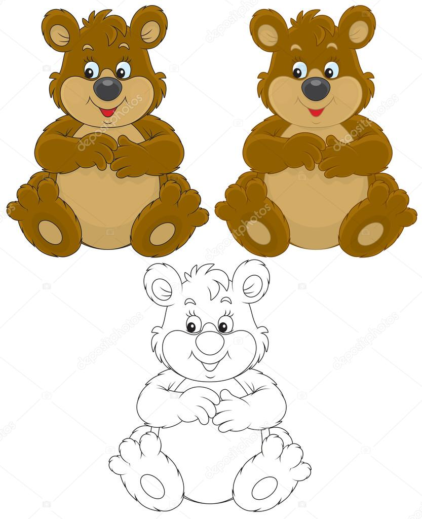 6830 Grizzly Bear Cliparts Stock Vector And Royalty Free