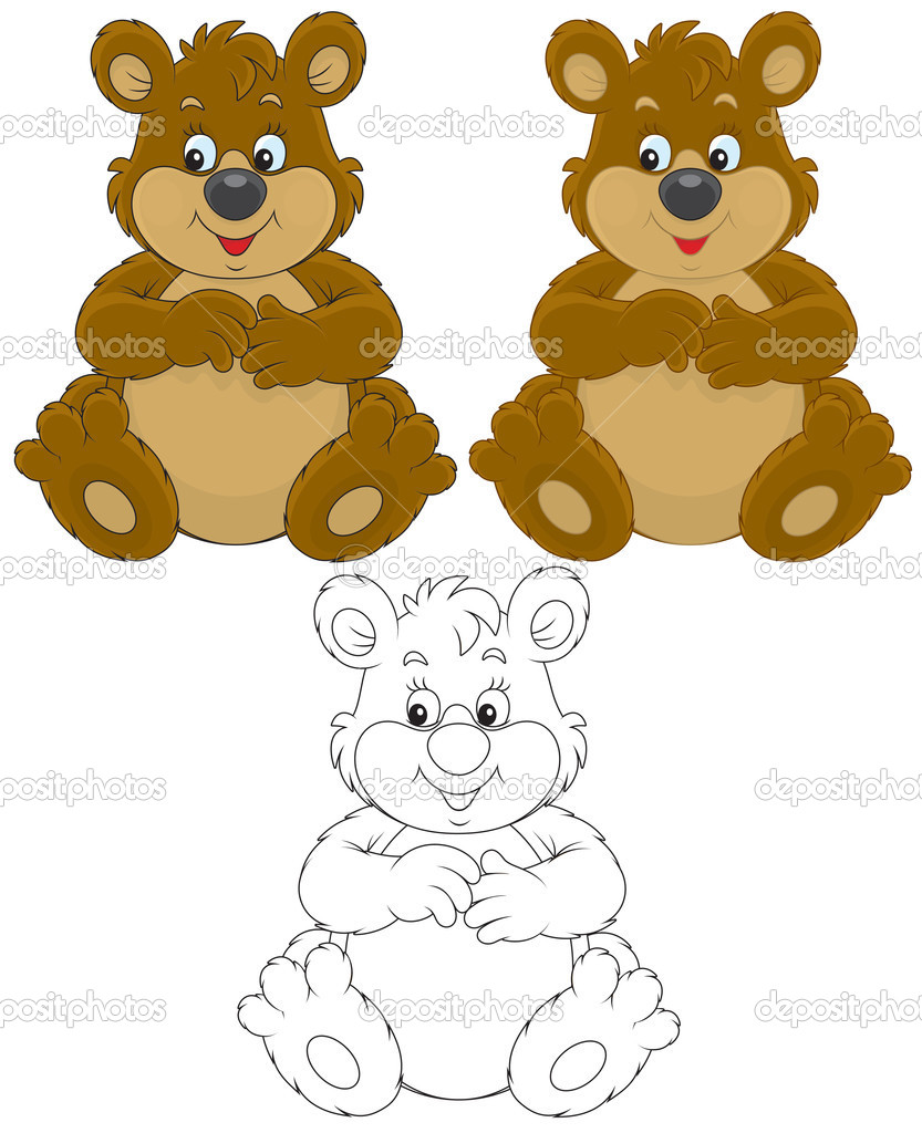 7729 Grizzly Bear Cliparts Stock Vector And Royalty Free
