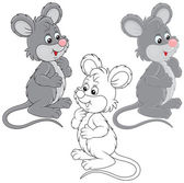 Mouse — Stock Vector