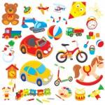 oyuncaklar — Stok Vektör