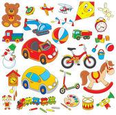 玩具 — 图库矢量图片