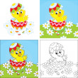 Easter Chick — Stock Vector #38991411