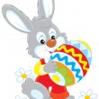 Stock Vector: Easter Bunny