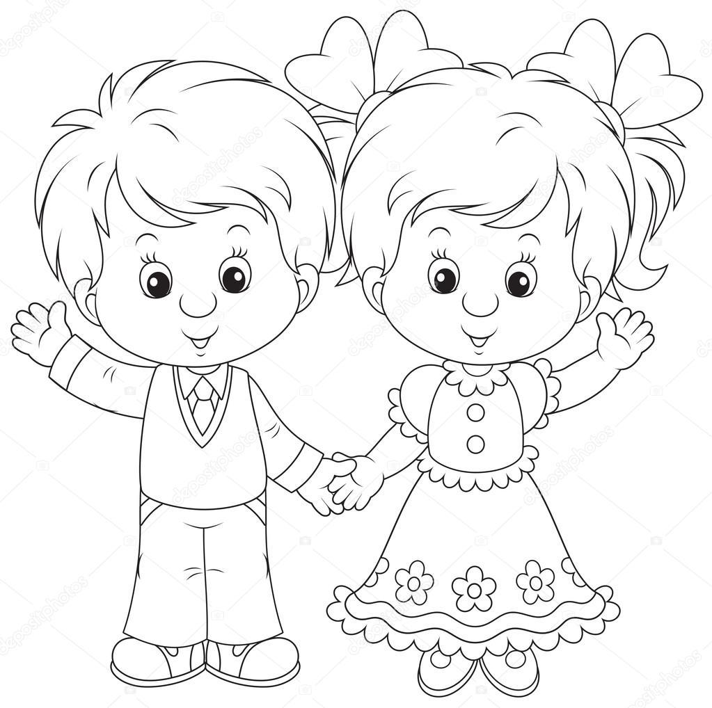 Раскраски для мальчиков и девочек картинки для детей