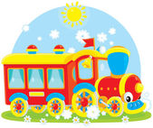 Toy train — Wektor stockowy