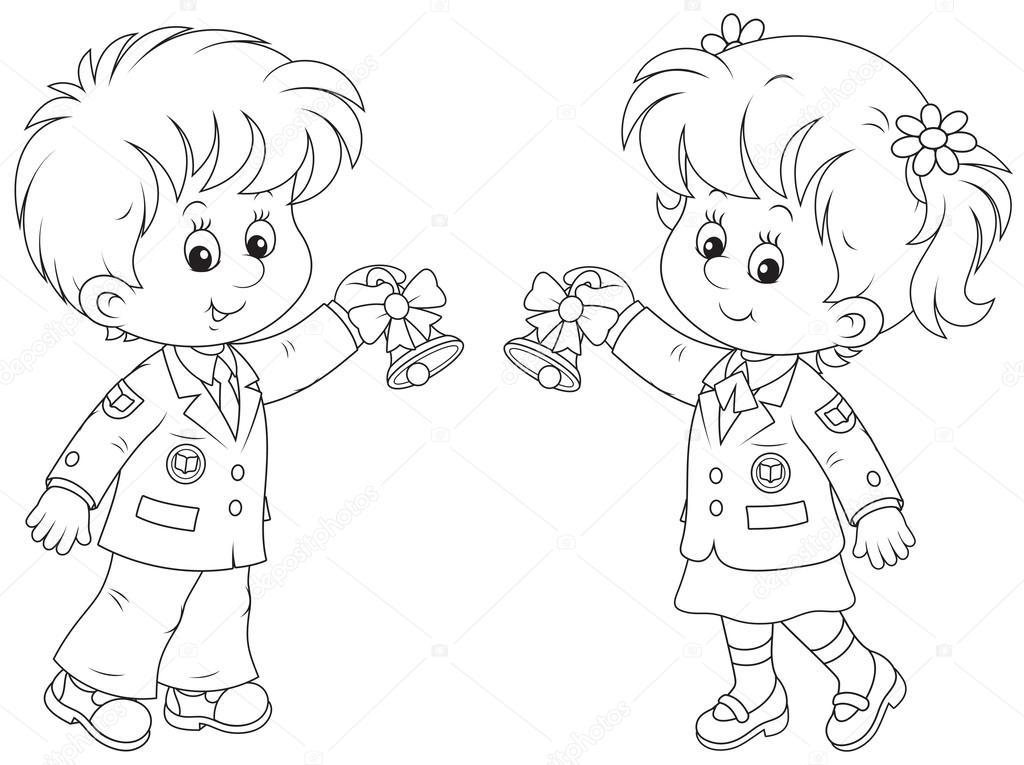 Meninos E Meninas De Nacionalidades Diferentes Childre: Stock Vektor © AlexBannykh #45558473