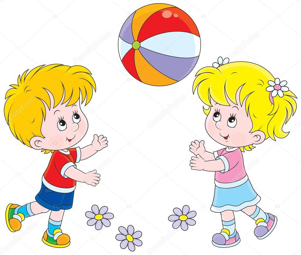 Мальчик с мячом картинки