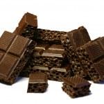 Broken chocolate — Stock Photo #1842072