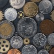 Coins background — Stock Photo #24344125
