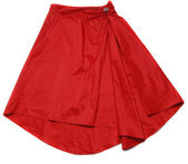 Red skirt — Stock Photo