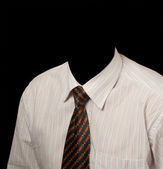 Business shirt and tie — Stock Photo
