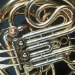 Brass horn — Stock Photo
