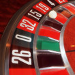 Stock Photo: Roulette gambling