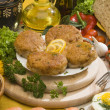 Stock Photo: Cutlet still life