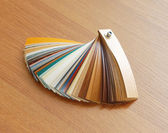 Laminated flooring board — Stock Photo