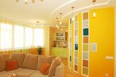 Interiér obývacího pokoje — Stock fotografie