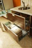 Interior of the modern kitchen — Stock Photo