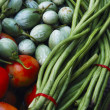 Vegetable background — Stock Photo