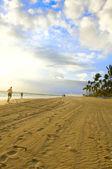 Morning sea beach — Stock Photo