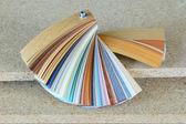 Laminated flooring board — Stock Photo