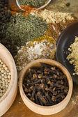 Spice still life: cloves — Stock Photo