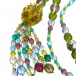 Color necklace — Foto de Stock