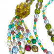 Color necklace — Stock Photo