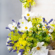 Stock Photo: Flower decoration for a wedding
