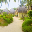 Stock Photo: Maldive bungalow