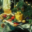 Stock Photo: Christmass still life