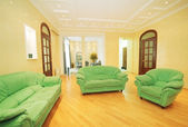 Modern interior of living room — Stock Photo