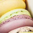 Colorful macaroons — Foto de Stock