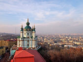 St. Andrew's church in Kyiv — Stockfoto