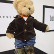 Teddy bear in modern clothing — Stock Photo