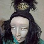 "Japanese doll on exhibition ""Kiev TeddiLend — Stock Photo"