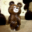 Stock Photo: Olympic bear statuette