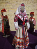 Reeled dolls in Ukrainian style — Stock Photo